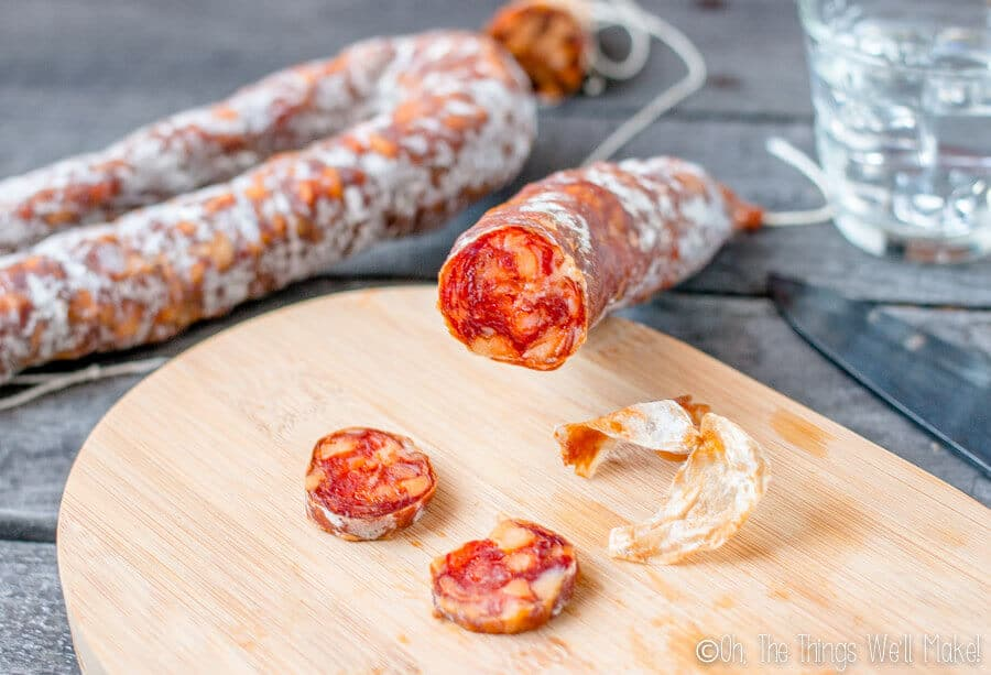 How to make Spanish Chorizo: Dry Cured