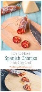 Photos of how to make Spanish chorizo for Pinterest