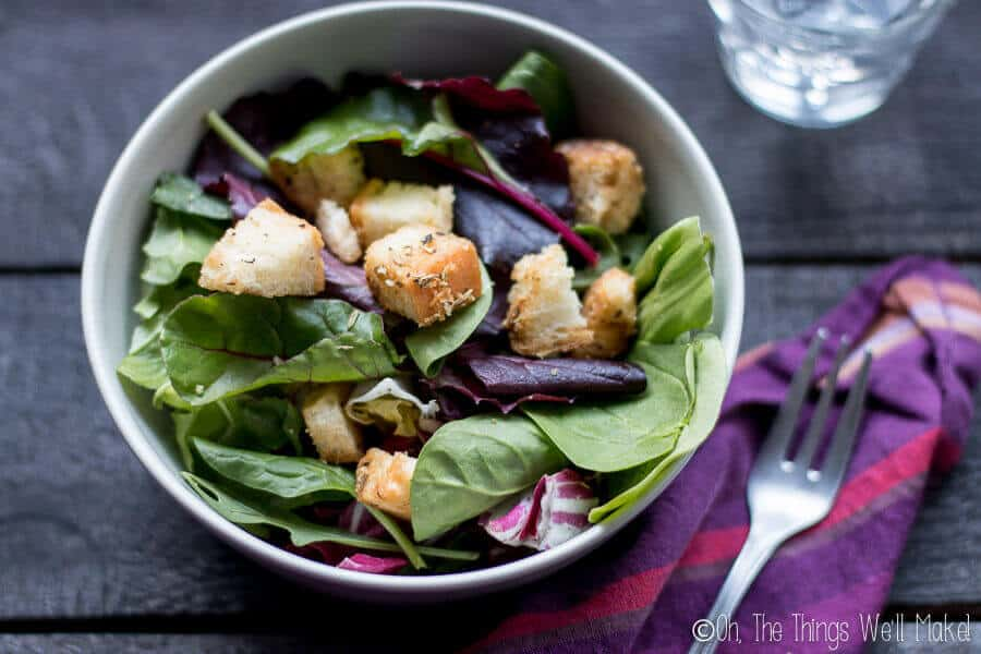 How to Make Homemade Croutons From Bread (Easy Enough for a Kid!)
