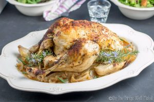Easy, Slow Cooker Whole Chicken