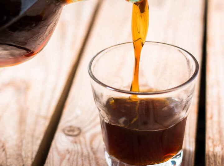 Control the quality of the ingredients and the level of sweetness when you make your own homemade Tía María or Kahlúa copycat using this easy coffee liqueur recipe.
