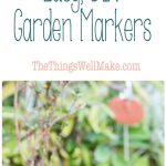 Label your herb garden and other plants with these super cute and easy DIY garden markers.