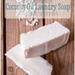 Even if you've never made soap before, you can quickly whip up this easy homemade laundry soap from scratch. It's perfect for stain removal or for making soap-based laundry 'detergents.' #thethingswellmake #miy #laundry #soap #detergent #wash #laundrydetergent #washing #naturalcleaning #naturalcleaningproducts #naturalsurfactants #cleaning #greencleaning #greenliving #greenlivingtips #soapmaking #soaprecipes #homesteading #homesteadingskills