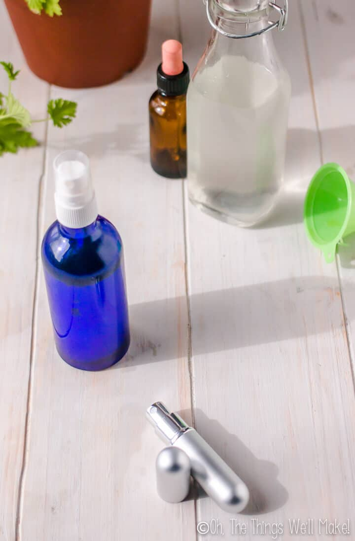 Keep the mosquitos away using the best essential oils for repelling mosquitos. I'll also share how to make a homemade mosquito repellent spray.