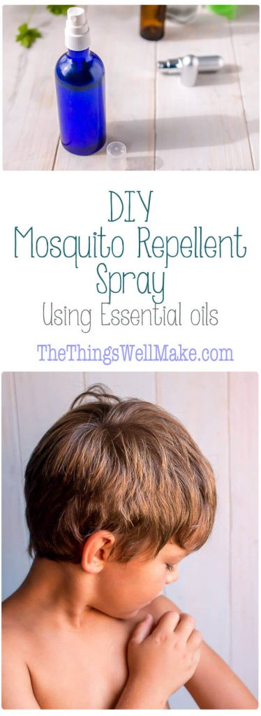 Keep the mosquitos away using the best essential oils for mosquitos to make a homemade mosquito repellent spray.