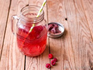 Healthy Paleo Red Soda (Red Pop)