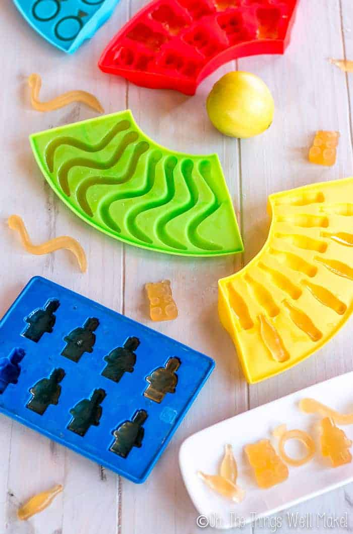 Homemade Gummies (With Fun Variations) - Oh, The Things We