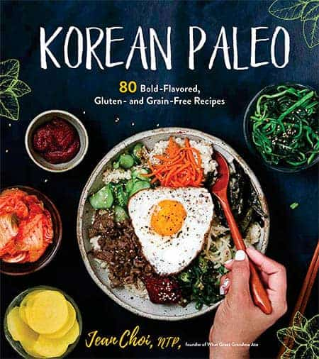 Cover of the Korean Paleo Cookbook by Jean Choi