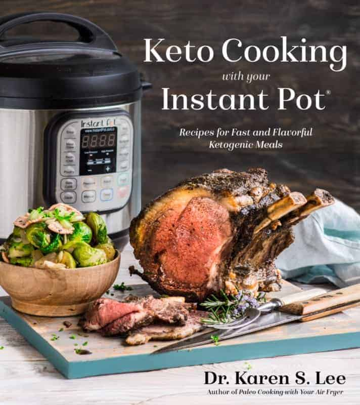 Cover of the Keto Cooking in Your Instant Pot cookbook