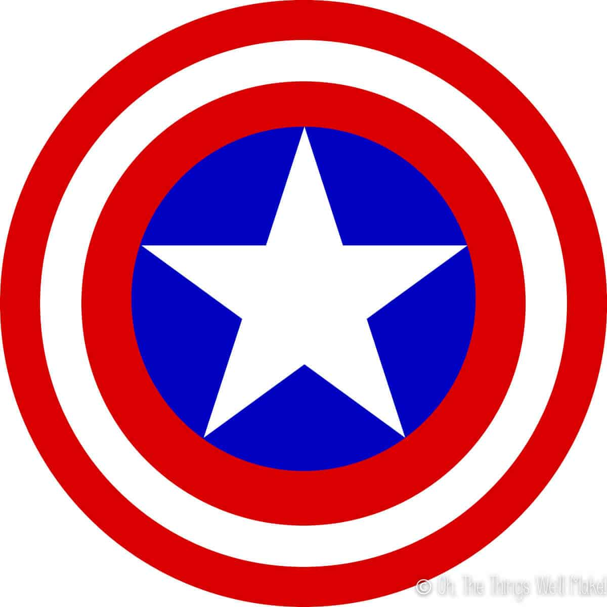 Captain America Shield logo