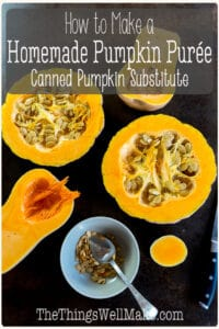 How To Make Pumpkin Puree Canned Pumpkin Substitute Oh