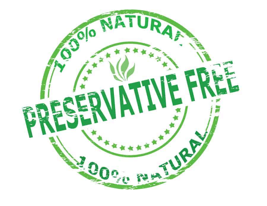 100% natural, preservative free seal