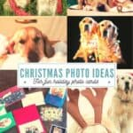Send personalized Christmas cards with fun photos using these handmade and printed card ideas. Included are photo ideas with dogs and young children. #Christmascards #Christmasphotos #thethingswellmake #Christmascrafts #miy #photography #photoideas