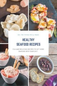 Packed with essential vitamins and minerals, healthy oils, and high-quality protein, seafood is both healthy and delicious. These are some of my favorite ways to get seafood into my diet. #seafood #seafoodrecipes #seafoodhealthbenefits #fishreicpes #squidrecipes #octopusrecipes