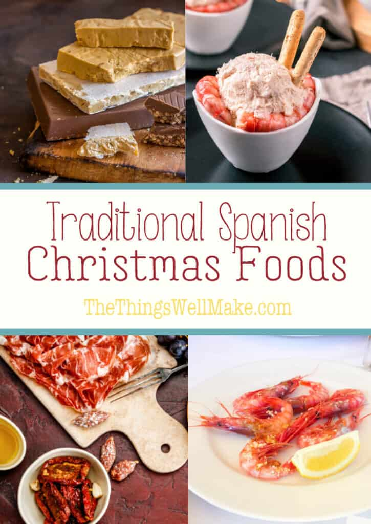 Christmas time in Spain focuses on delicious, high-quality food. Hopefully, this comprehensive list of traditional Spanish Christmas foods and recipes will inspire you to try something new over the holidays. #christmas #spain #spanishcuisine #spanishchristmasfood #holidayfood #christmasrecipes