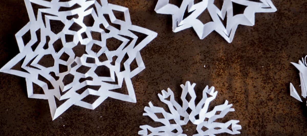 Paper Snowflake   Kids' Crafts   Fun Craft Ideas   FirstPalette.com   533x1200
