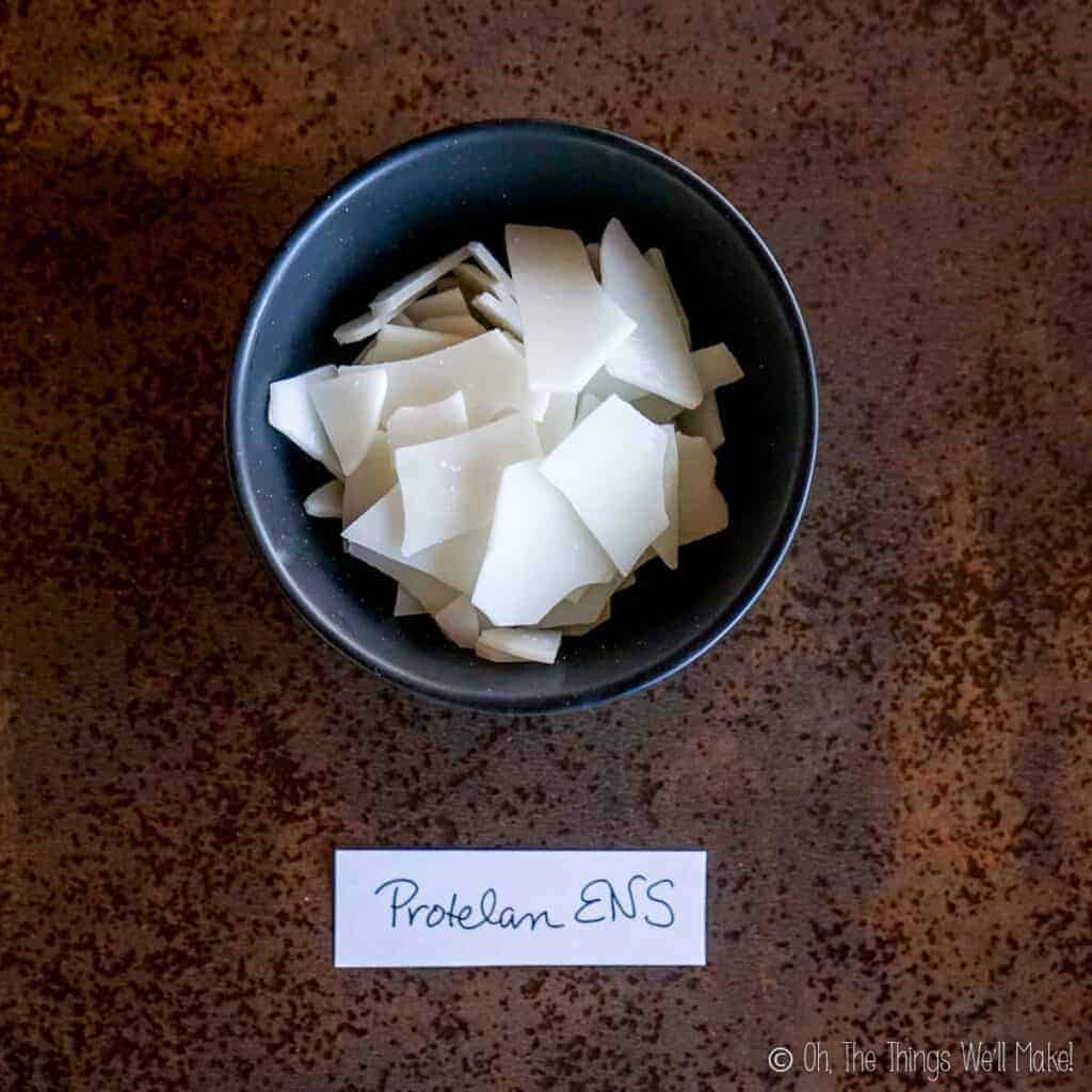 A bowl of Protelan ENS emulsifier