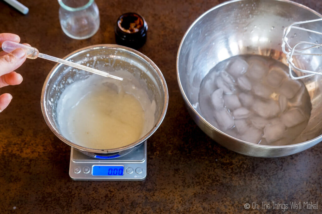 adding a preservative to body butter ingredients